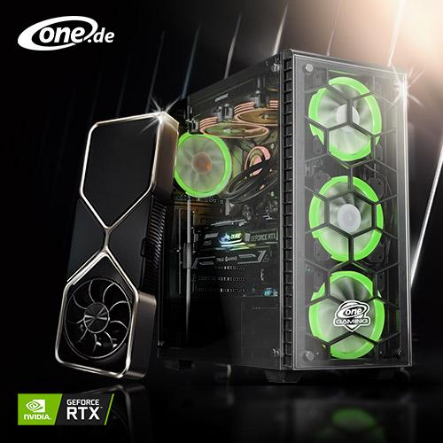 PC Systme mit NVIDIA RTX Grafikkarten