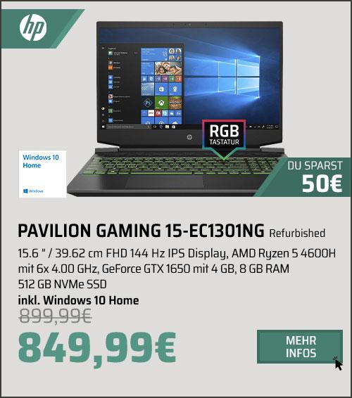 HP PAVILION GAMING 15-EC1301NG