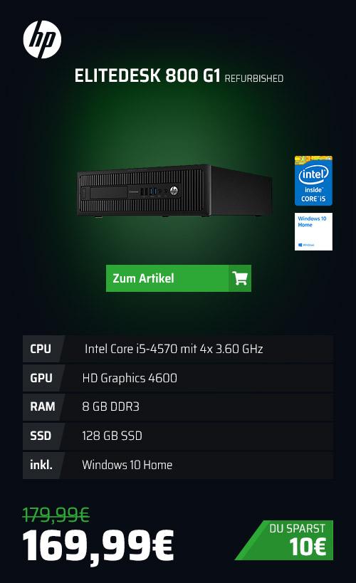 HP EliteDesk 800 G1 GEBRAUCHT
