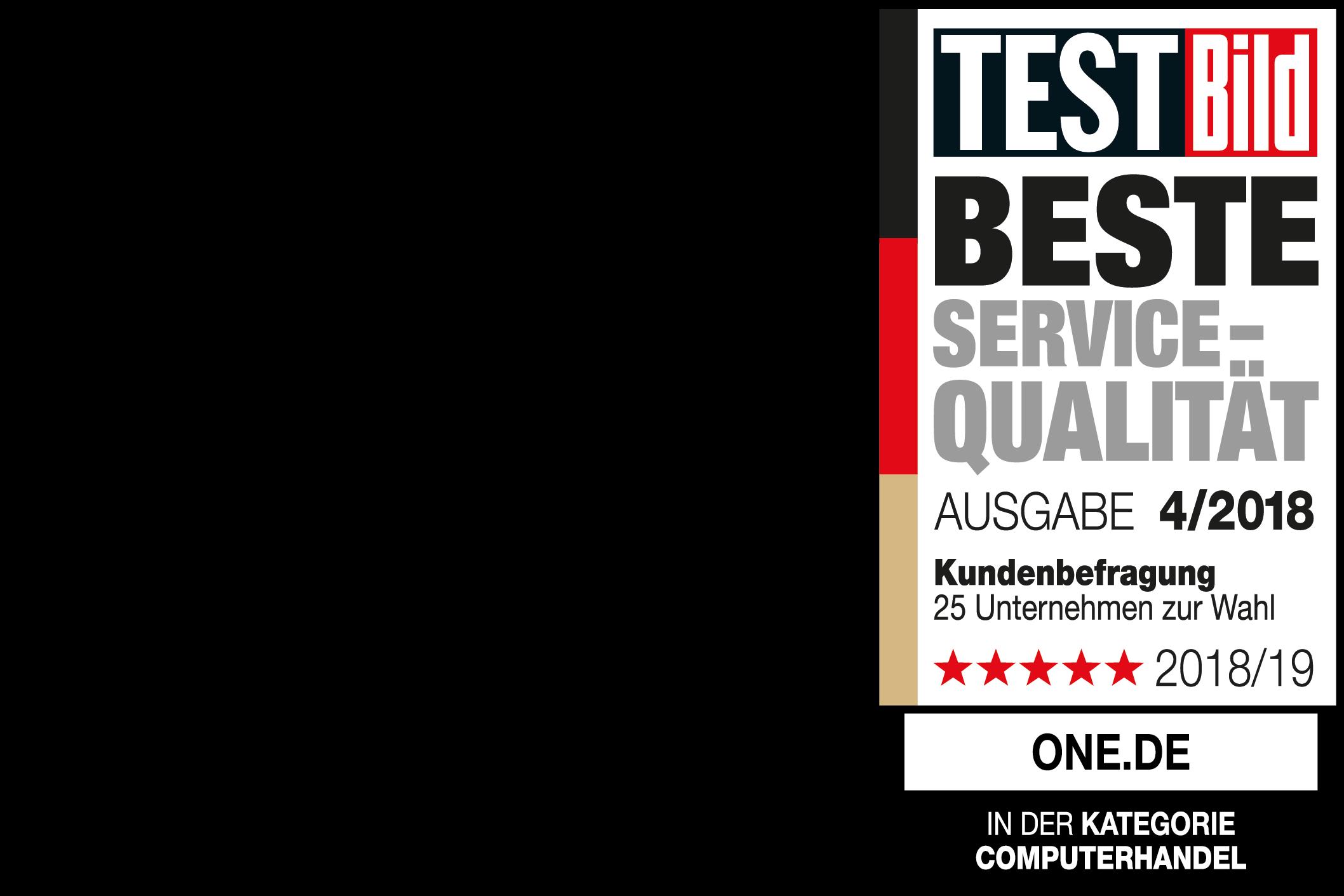 TEST Bild Beste Servive-Qualitaet