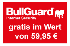 BullGuard Internet Security gratis zu den Systemen bei ONE