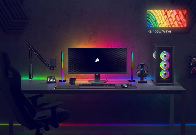 iCUE Effekt: Rainbow Wave