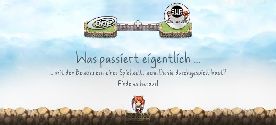 Headergrafik: ONE.de + SuR - No One lives in Heaven