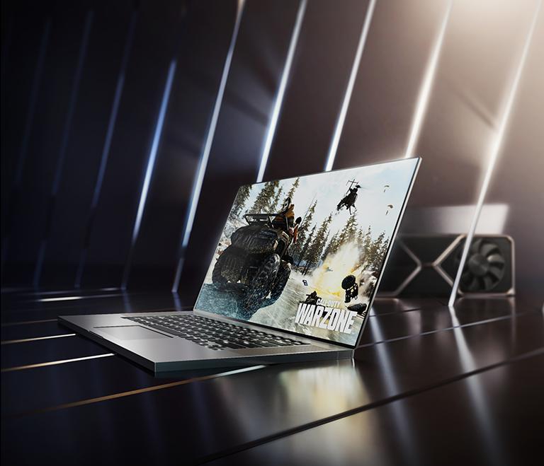 Erlebe schnelle Gaming Erlebnisse auf deinem Notebook mit einer Grafikkarte der GeForce RTX 30-Serie