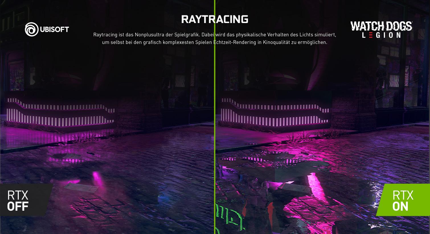 Raytracing für ein nonplusultra der Spielgrafik