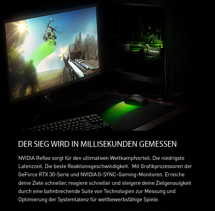 NVIDIA Reflex für den ultimativen Wettkampfvorteil