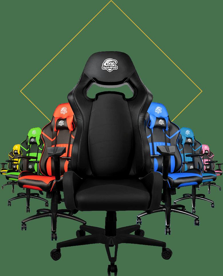 ONE Gaming Chairs in verschiedenen Farben