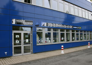 Werksverkauf in Meuselwitz: PC Systeme, Server, Gaming Systeme, ONE, XMX