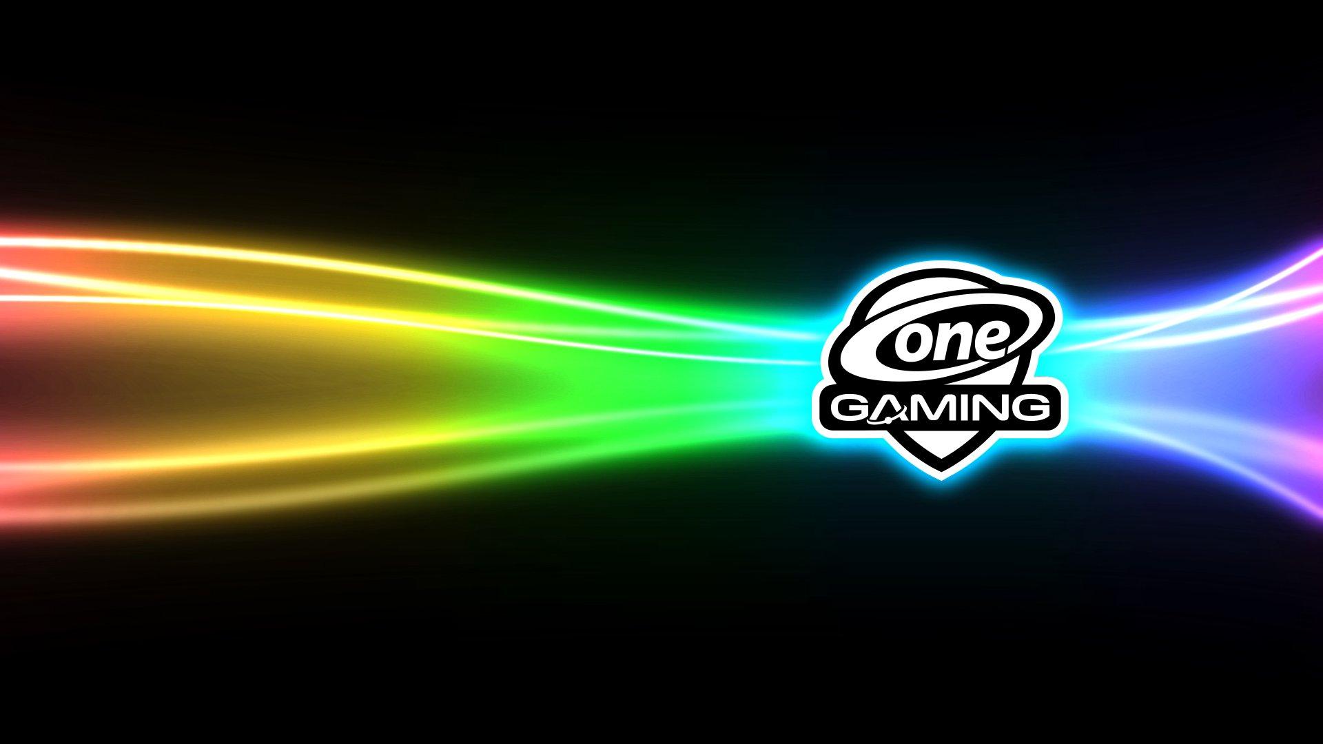 ONE Gaming Wallpaper RGB Line