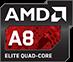 B-Ware HP 15-ba055ng schwarz mit AMD A8 CPU