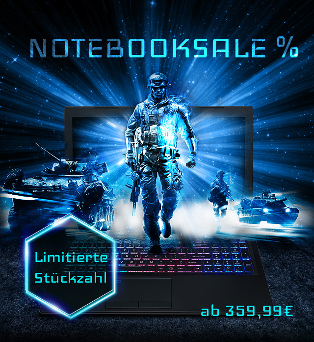 Notebooksale bei ONE.de