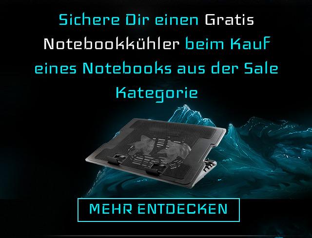 Günstige Laptops mit gratis Notebookkühler bei ONE.de