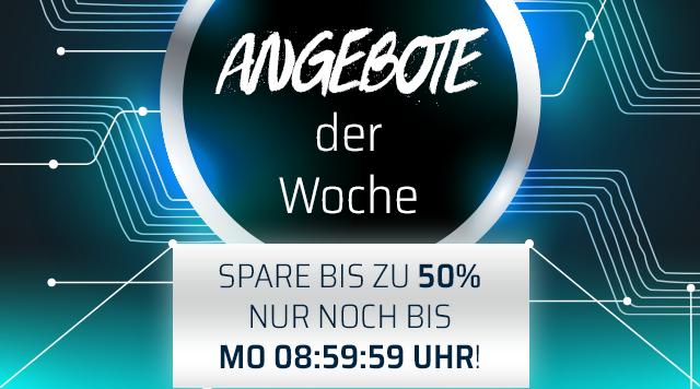 Jetzt noch bis Mo 8:59 Uhr Angebote der Woche bei ONE.de sichern und bis zu 60% sparen!