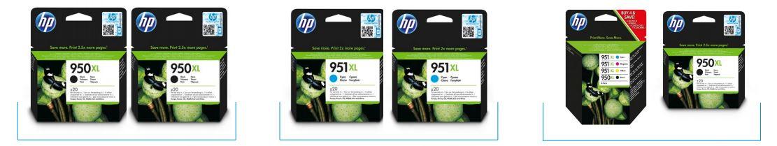 HP Tinten Cashback