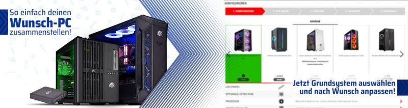 Computer zusammenstellen: Wunsch-PC bei ONE.de konfigurieren