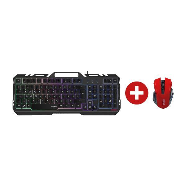 ► Speedlink Gaming Bundle Maus + Tastatur