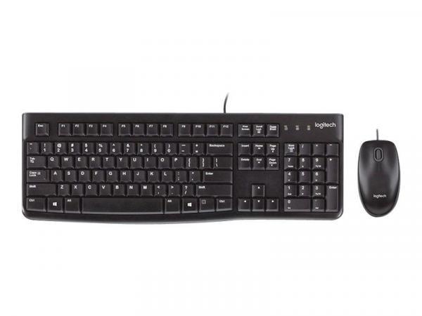 ▶ Tastatur-Maus-Set Logitech MK120 online kaufen