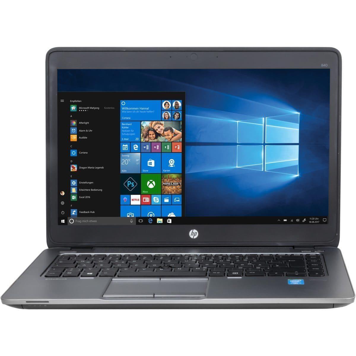 HP Elitebook 840 G2 Laptop gebraucht/generallüberholt- 71351