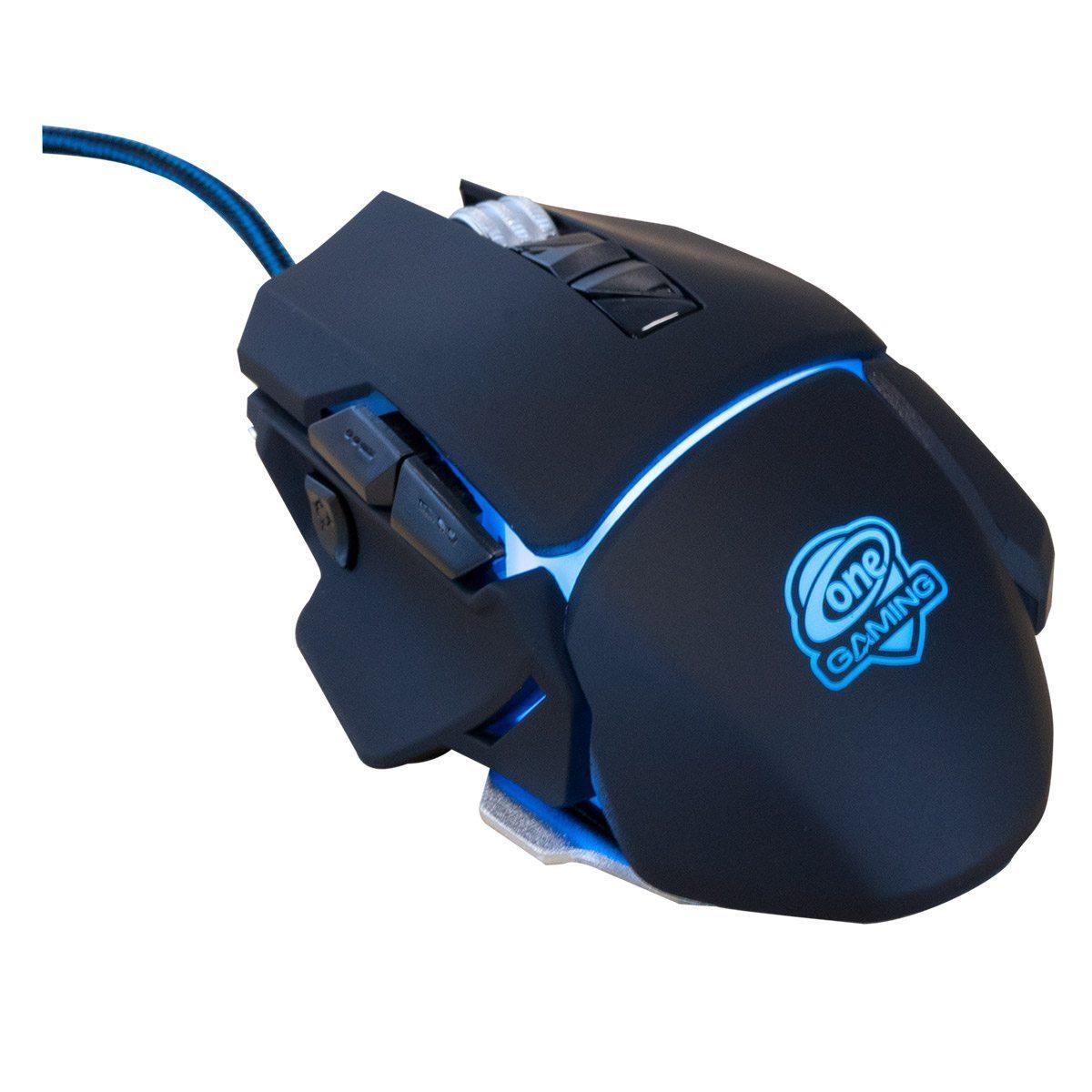 RGB Gaming Maus Black Hawk Ultragrip