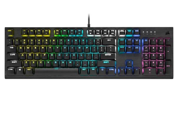 ► K60 RGB PRO Low Profile Gaming Keyboard