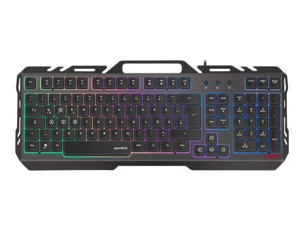 Speedlink ORIOS METAL Gaming Tastatur