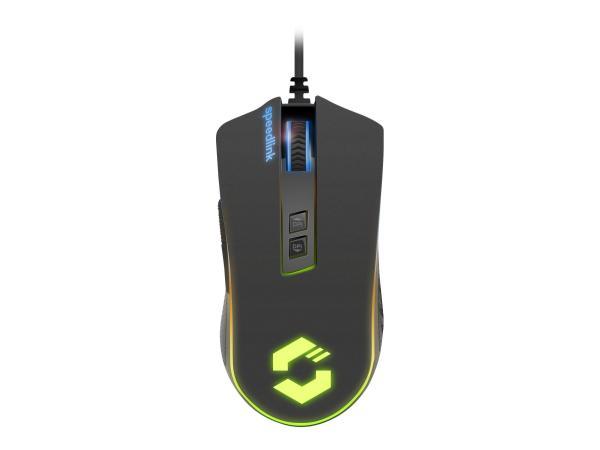 SPEEDLINK ORIOS RGB Gaming Mouse, Schwarz, Hauptbild (06.01.2020)