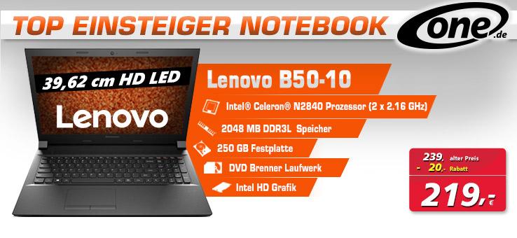 Lenovo Notebook