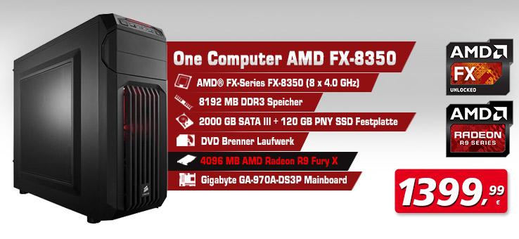 One Computer AMD FX-8350